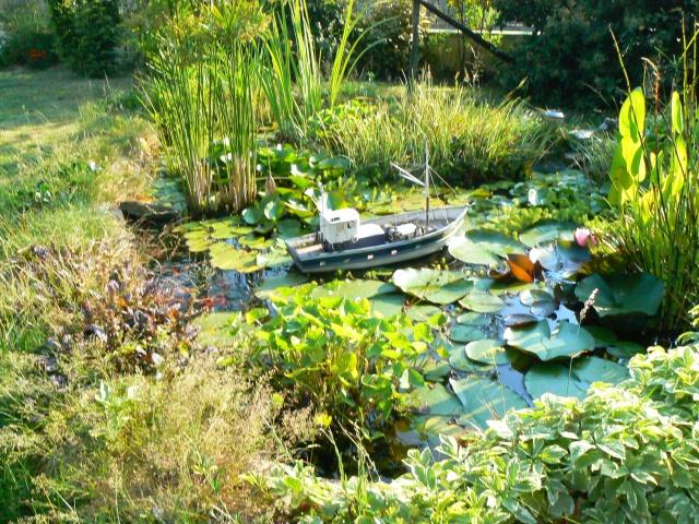 bassin de jardin fait maison amazing fontaine de jardin. Black Bedroom Furniture Sets. Home Design Ideas
